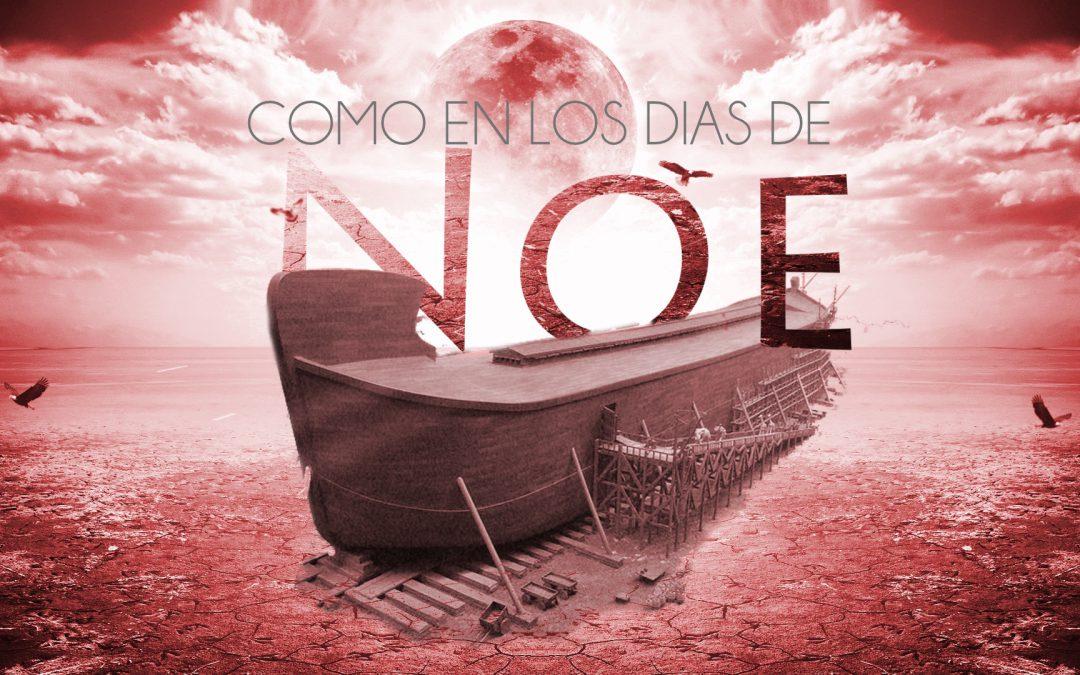 COMO EN LOS DIAS DE NOE